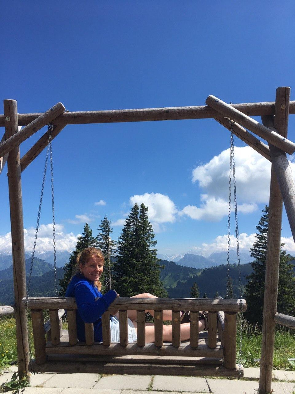 Mountain swing